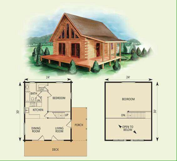 Needs Laundry Room In Downstairs Hallway Otherwise It S Pretty Good Log Cabin Floor Plans Log Home Floor Plans Small Cabin Plans