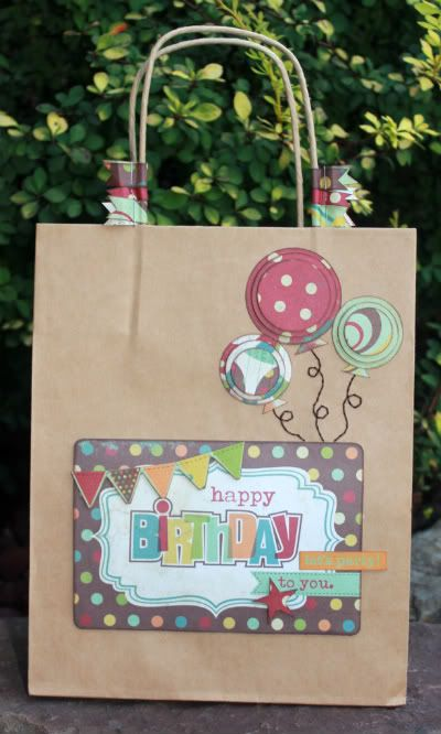 Cute do it yourself gift bag scrapbook and cards pinterest cute do it yourself gift bag solutioingenieria Choice Image