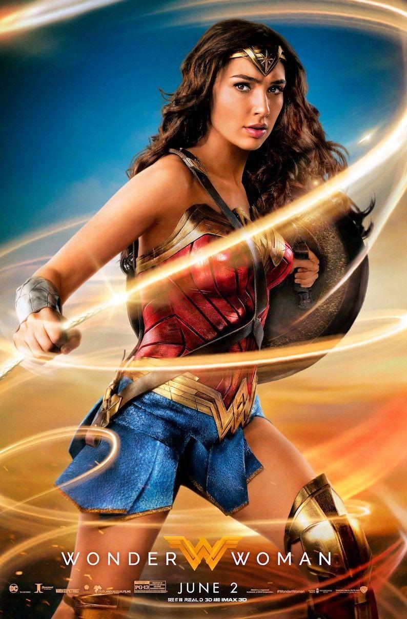 """Movie - B2G1F T11 Wonder Woman 11/"""" x 17/"""" Poster 2017"""
