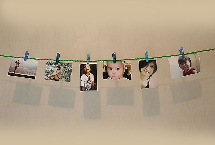 How To Make A Picture Clothesline Clothesline Pictures Clothesline Picture Display Clothesline Diy