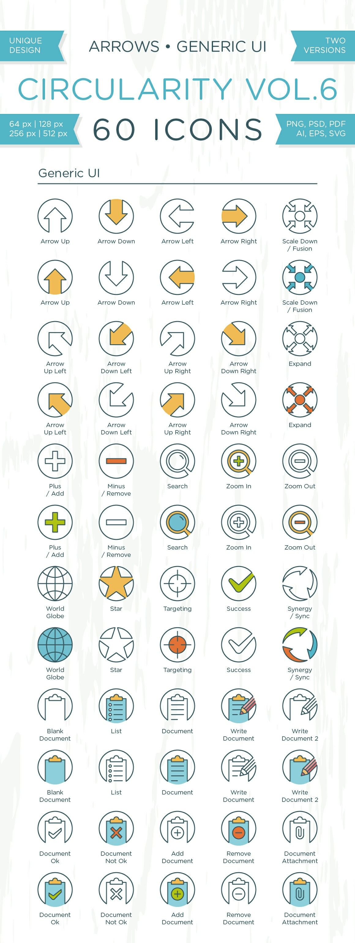 Circularity Icons Volume 6