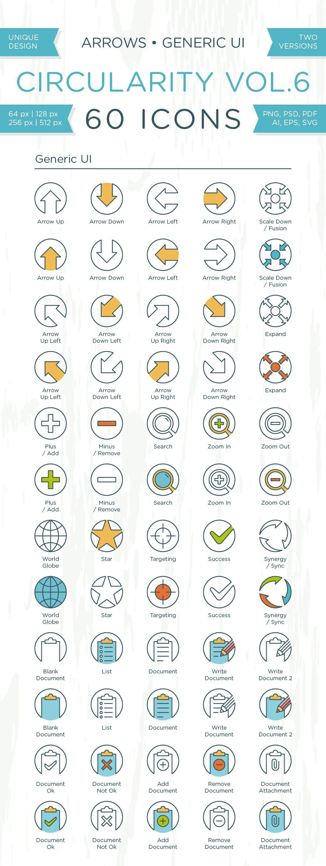 Circularity Icons Volume 6