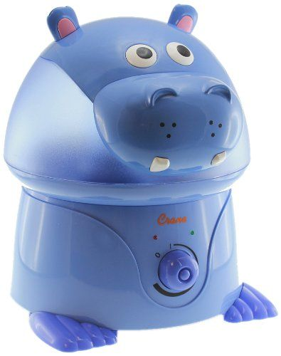 Crane 1 Gal. Ultrasonic Cool Mist Humidifier Hippo