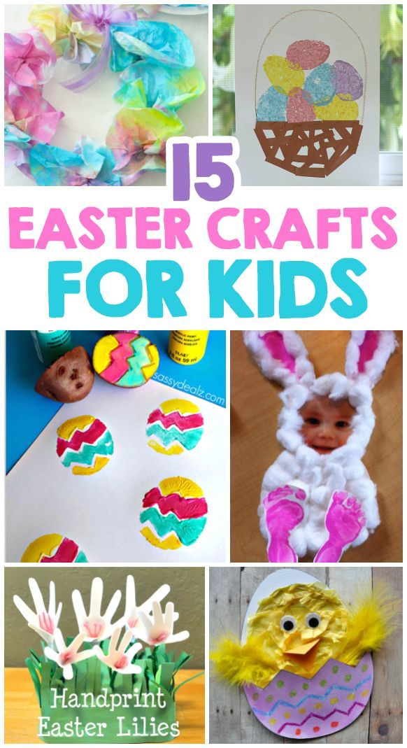 15 Easter Crafts For Kids Kids Crafts Activities Family And