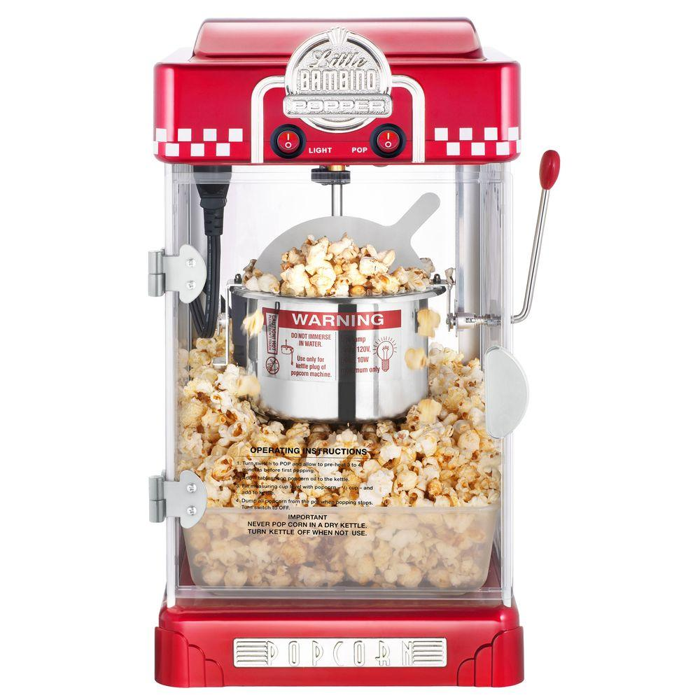 Great Northern Little Bambino 2 5 Oz Red Countertop Popcorn