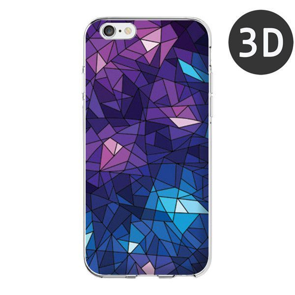 For Apple iPhone 6 Case Fashionable Geometric Graphic Pattern Mobile Cover for iPhone 6s plus Case Phone 5 5S Coque Funda