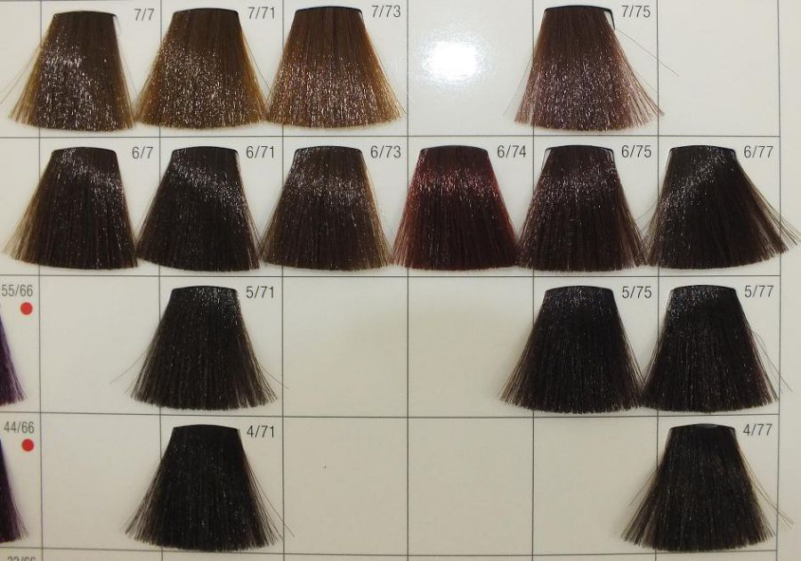 Poprzedni Wella Koleston 575 Ciemny Palisander Nastepny Pictures Brown Hair Color Chart Hair Color Chart Hair Color