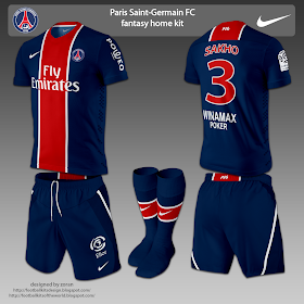 buy popular 69864 ac61f football kits design: October 2011   Ici Paris - PSG ...