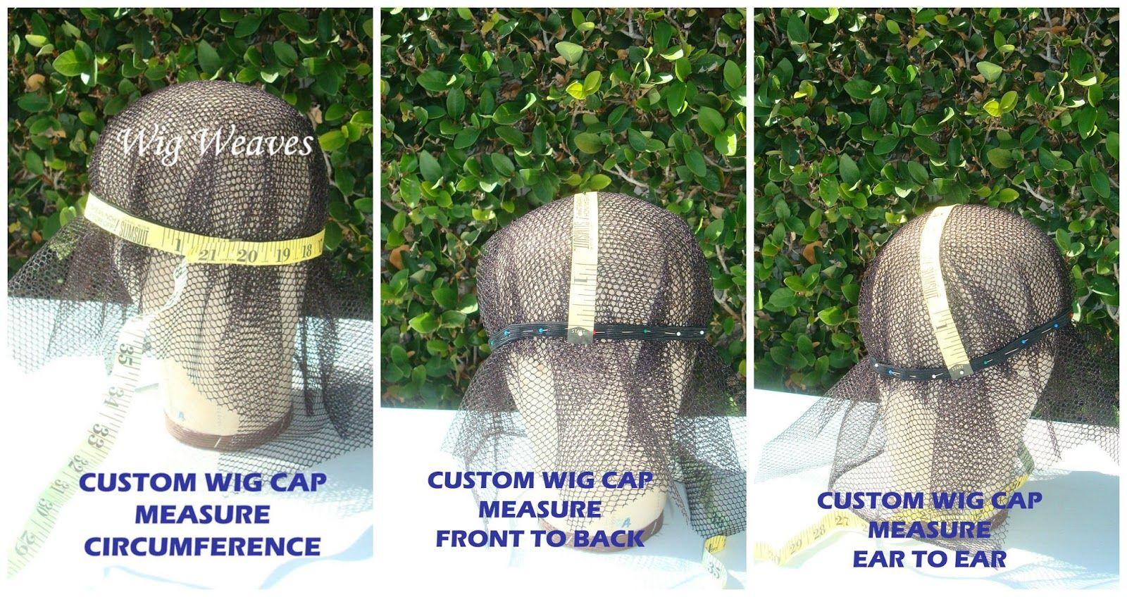 Custom wigmaking head measurements wigs wigmaking wig