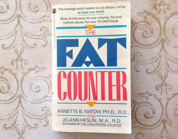 vintage the fat counter book diet nutrition health food