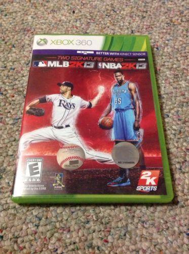 MLB 2K13/NBA 2K13 Combo Pack (Microsoft Xbox 360 2013) https://t.co/5iUZcZjUA6 https://t.co/RNsdQloTgD