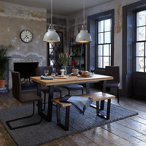 John Lewis Calia 6 10 Seater Extending Dining Table At
