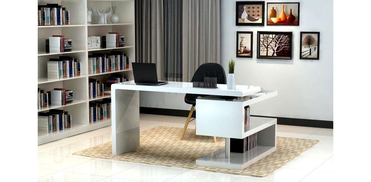 Luna   White European Design Office Desk A33