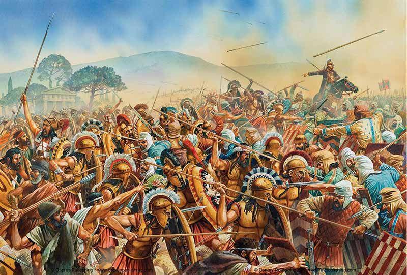 картинки античных сражений