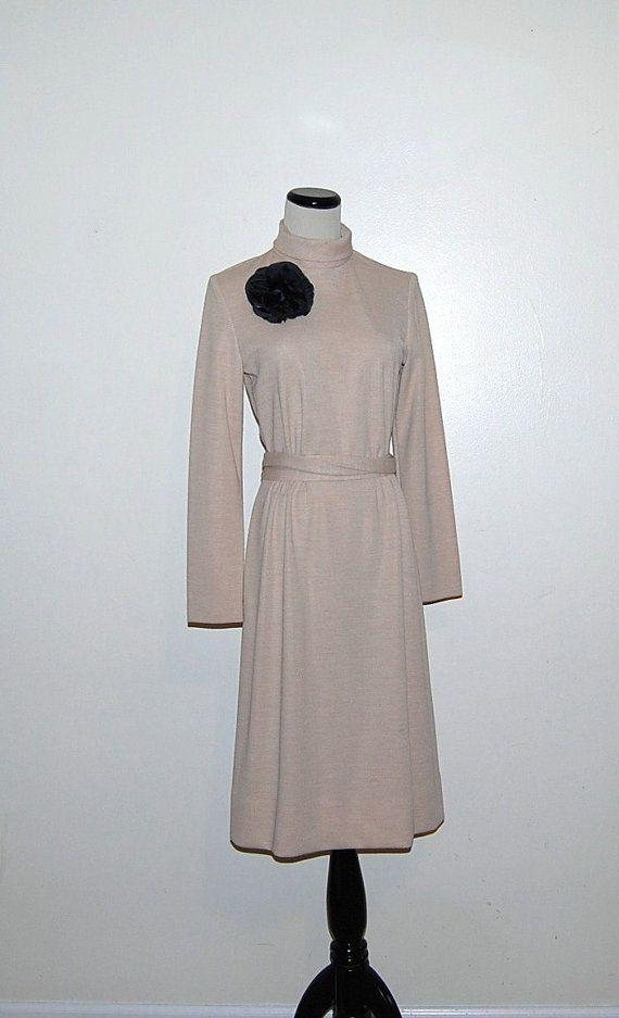 60s Crystal Buff Dress by CheekyVintageCloset on Etsy, $32.00