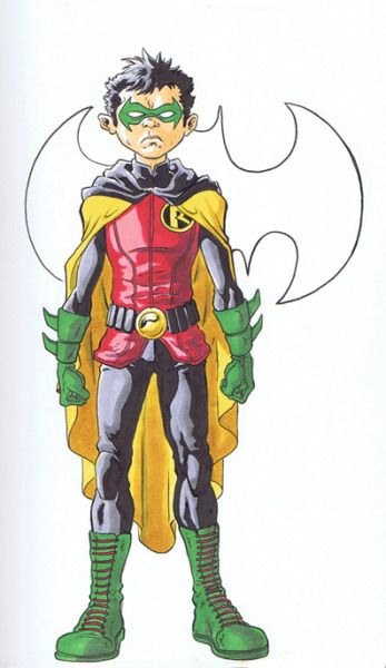 Damian Wayne by David Cutler