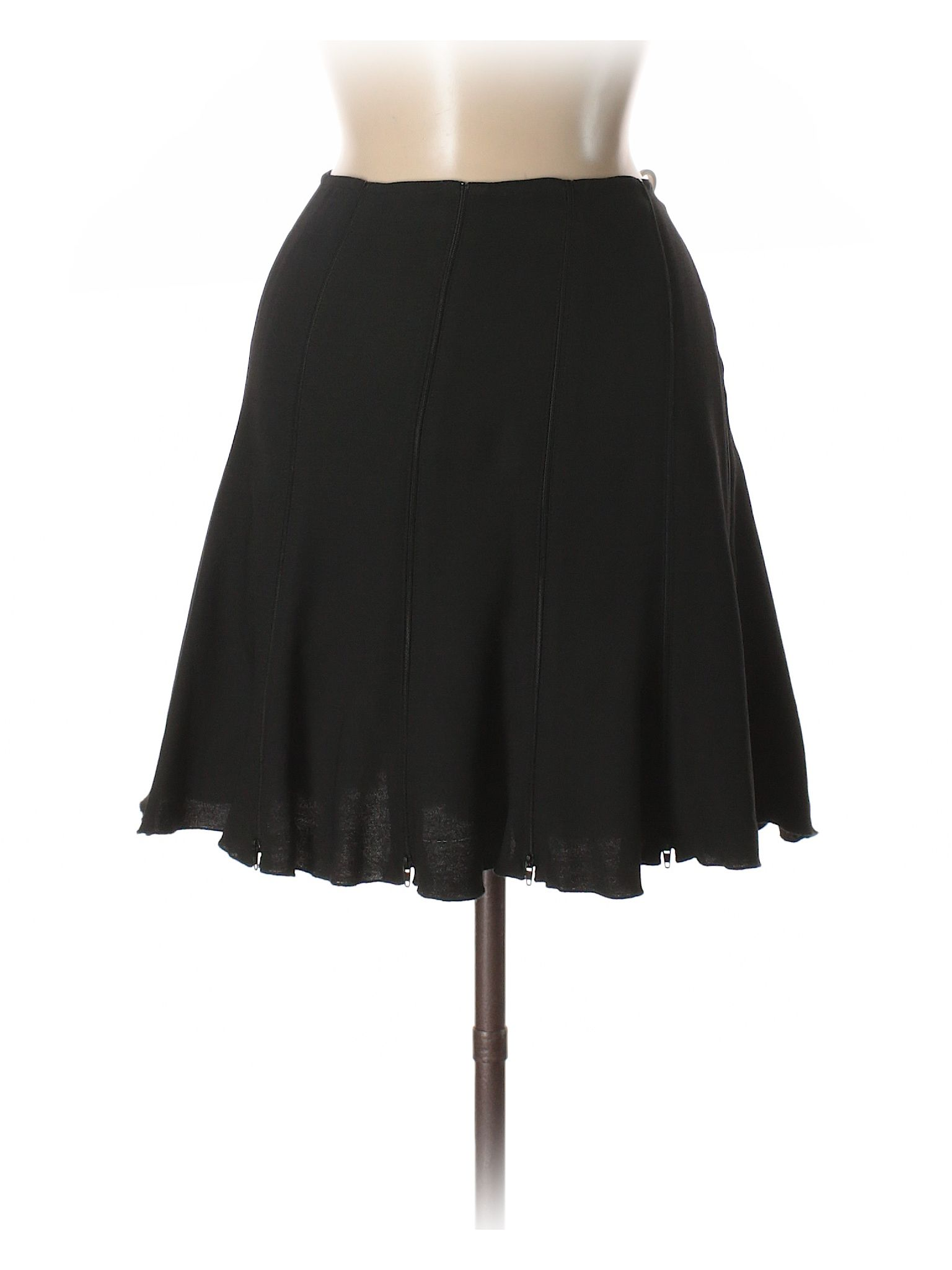 684bc7c919 Sonia by Sonia Rykiel Casual Skirt: Size 8.00 Black Women's Bottoms - $64.99