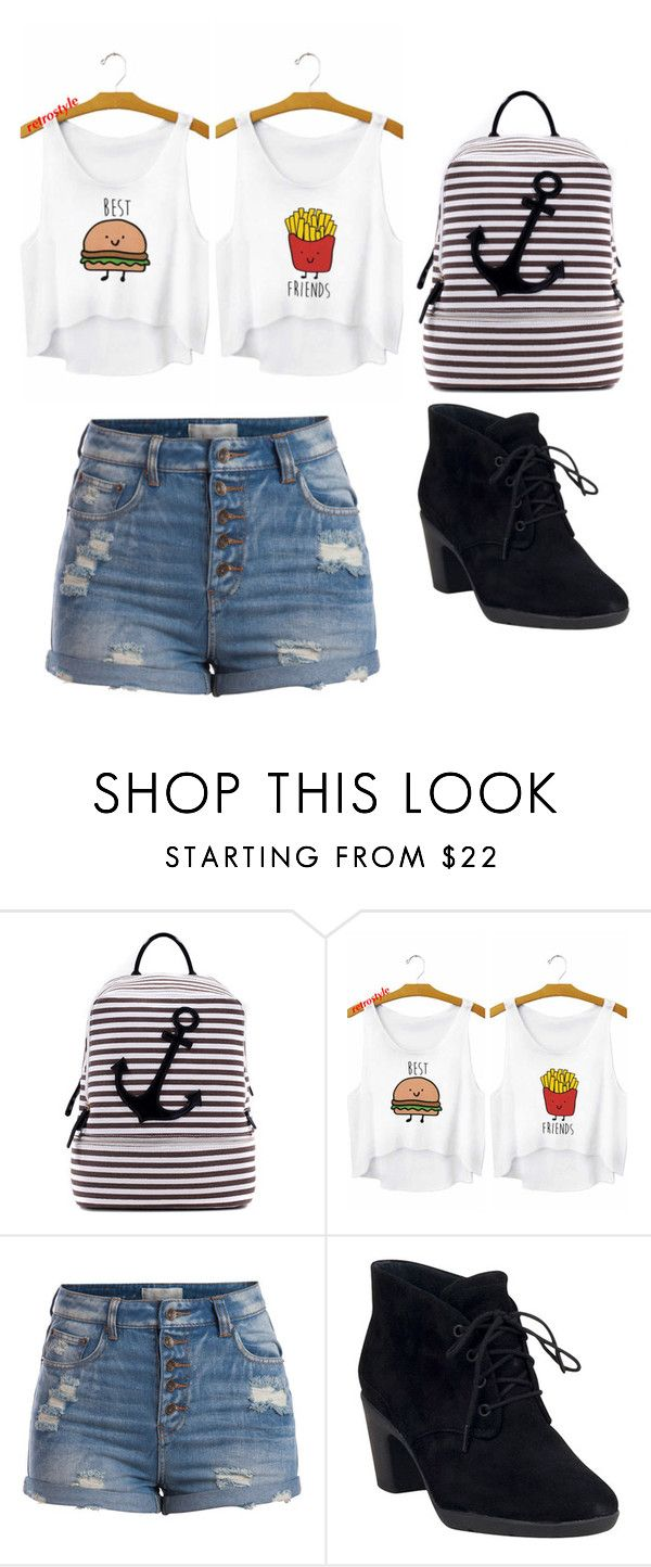 """Outfit Idea by Polyvore Remix"" by polyvore-remix ❤ liked on Polyvore featuring Dasein, Pieces and Clarks"