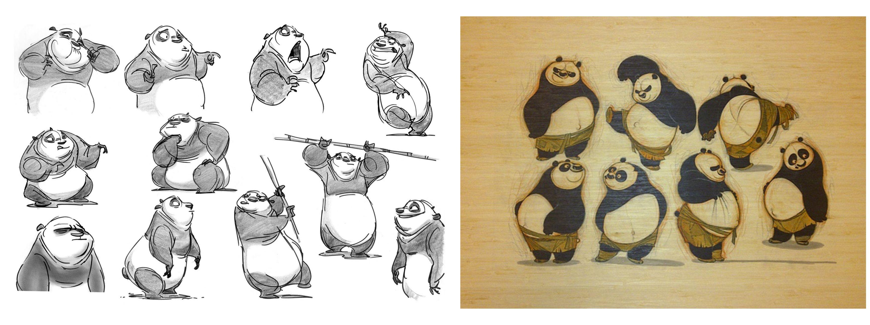 kung fu panda character designer - Google Search
