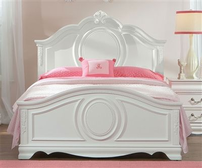 Standard Furniture Jessica Full Size Panel Bed Girls White Princess Bed In Full Size Standard Furniture Jessica Coll Standard Furniture Panel Bed Girl Beds