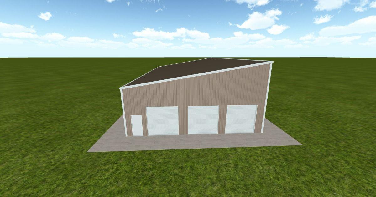 Cool 3D #marketing http://ift.tt/2f55are #barn #workshop #greenhouse #garage #roofing #DIY
