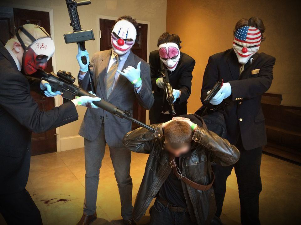 Let's plan B this shit. (PAYDAY Cosplay)