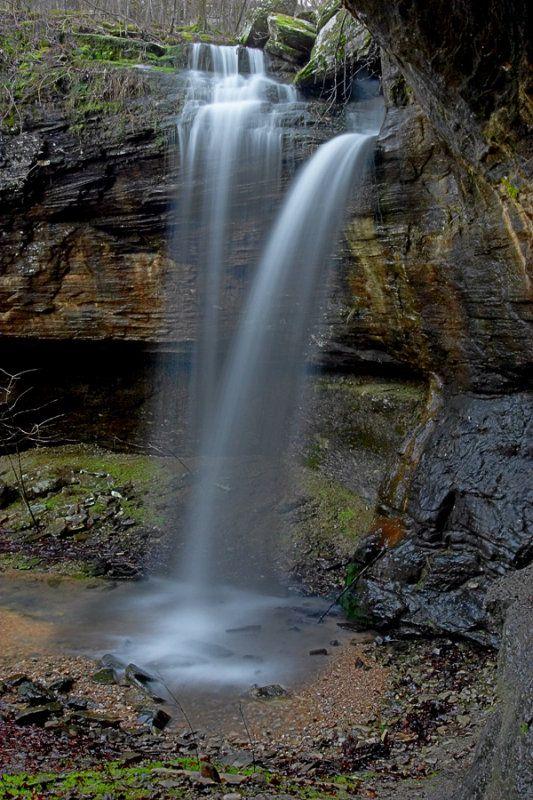 Chutes Victoria: Eagle's Nest Falls Arkansas