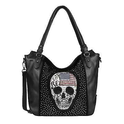 Photo of Detalles de Señora bolso calavera estados unidos look Shopper bandolera Skull bandolera Bag- ver título original