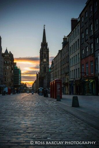 Evening in Edinburgh.  From Beautiful Edinburgh.