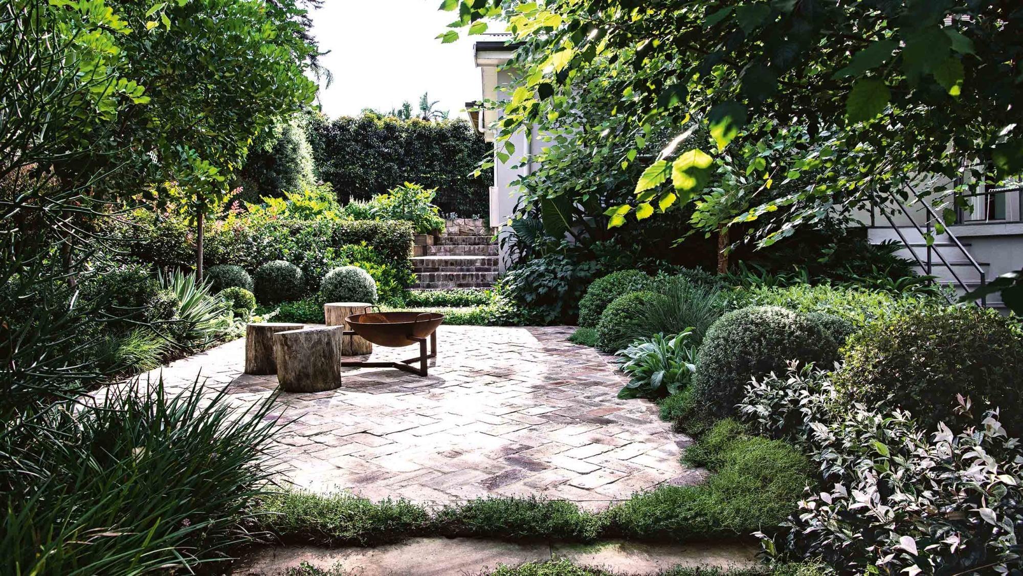 Outdoor Living A Multi Purpose Garden Family Garden Backyard Landscaping Garden Design