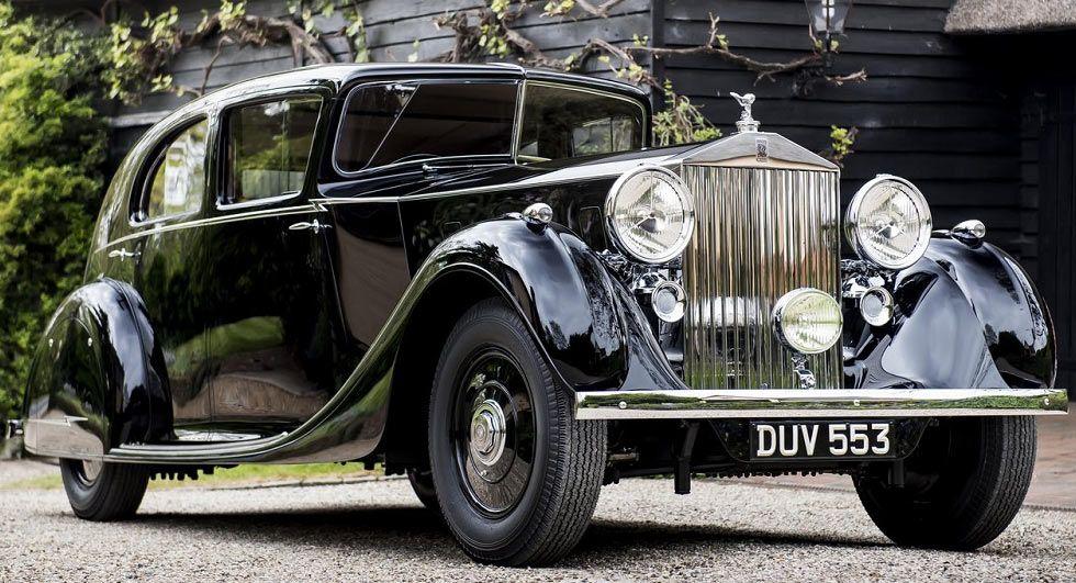 Rolls-Royce Names Field Marshal Bernard Montgomery\'s Phantom III ...