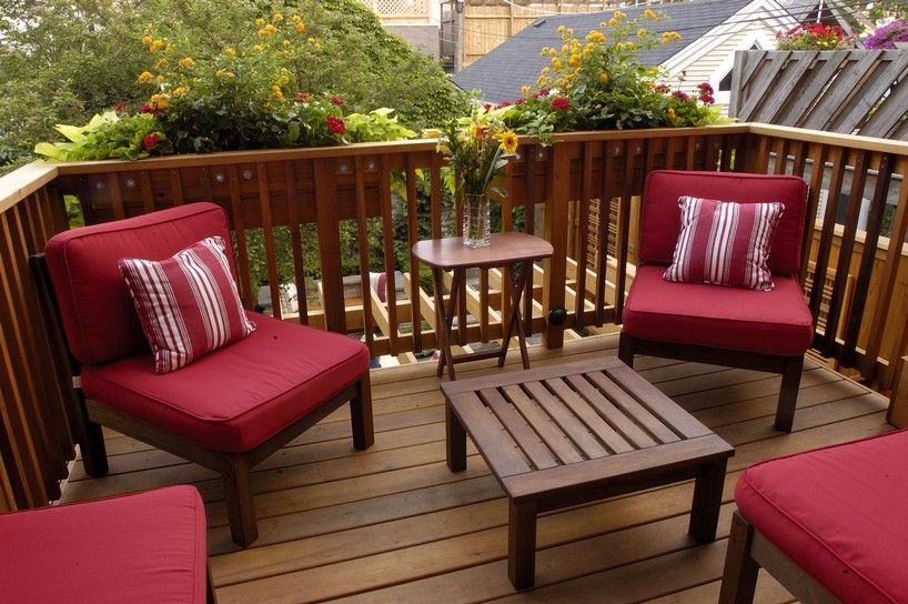 Small Deck Eye Popping Furniture