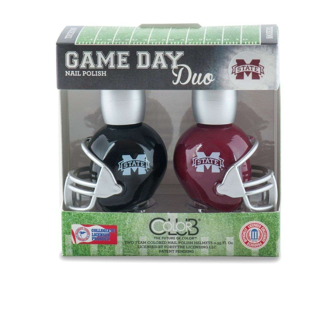 MICHIGAN STATE SPARTANS GAME DAY DUO NAIL POLISH SET