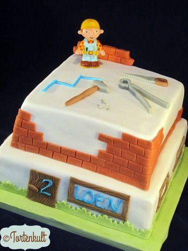 Geburtstagstorten Tortenkult Bob Der Baumeister Kuchen Geburtstagstorte Torte Kindergeburtstag