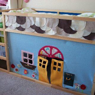 Ikea cama kura ideia casinha ideias decoradas e - Ikea cama alta ...