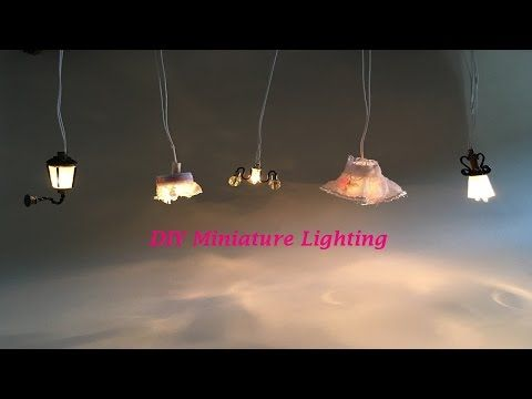 Diy How To Make A Miniature Led Light Pendant For