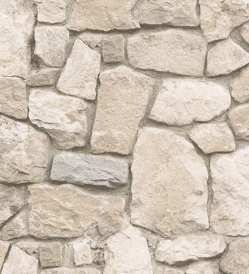 Paredes De Piedra Pintadas