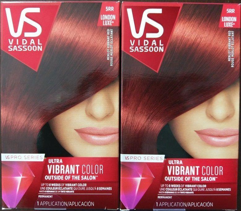 Vidal Sassoon Pro Series London Luxe Hair Color 5rr Merlot