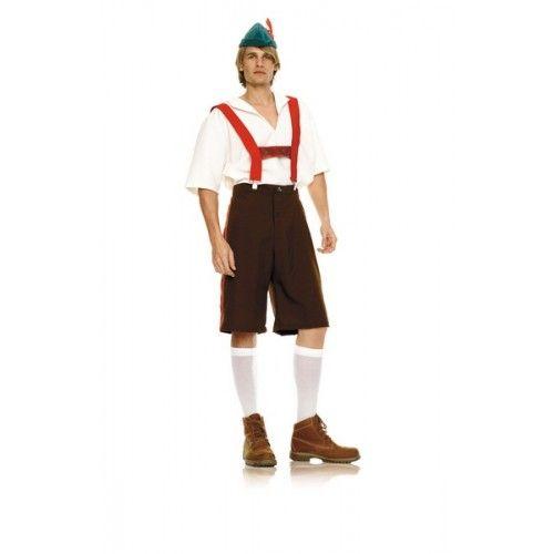 Lederhosen Costume : Tri Color | Fun Beer Costume