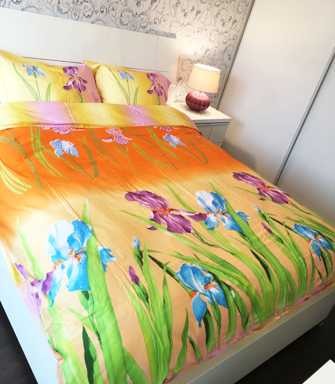 100 Cotton 6pcs set Summer, duvet cover bed set, Queen