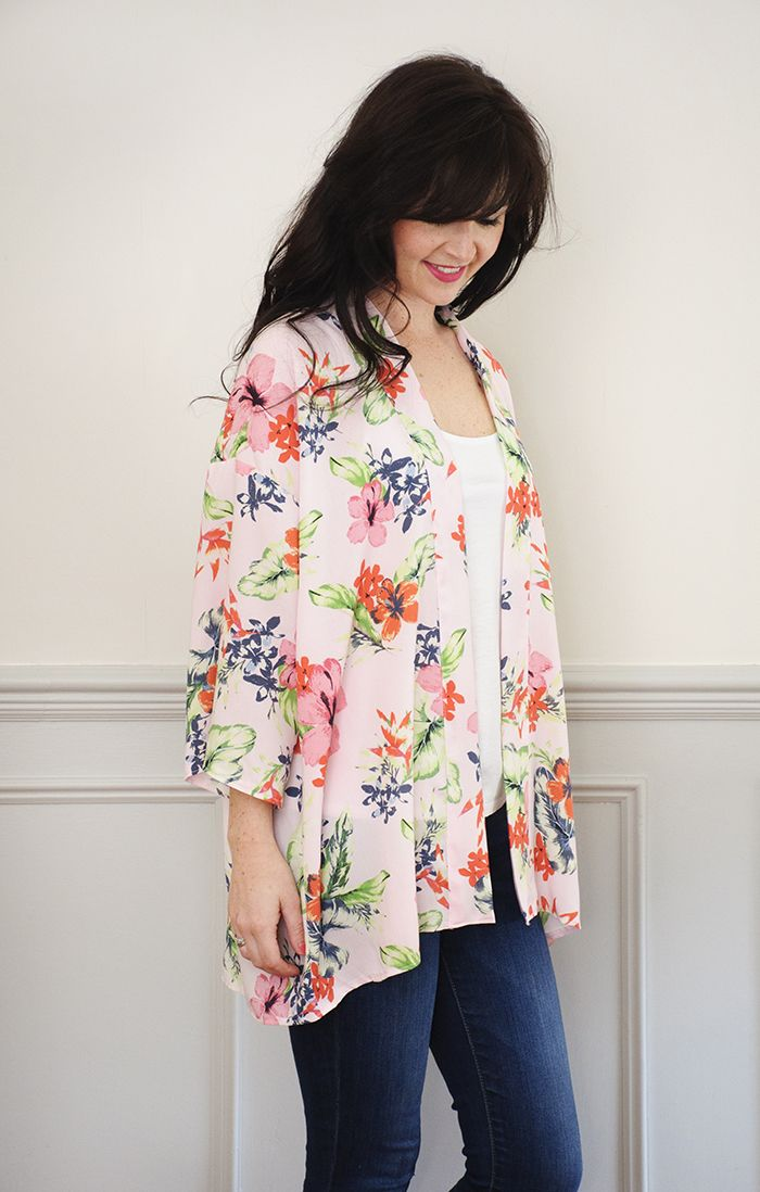 Kimono Jacket PDF Sewing Pattern | Nähen