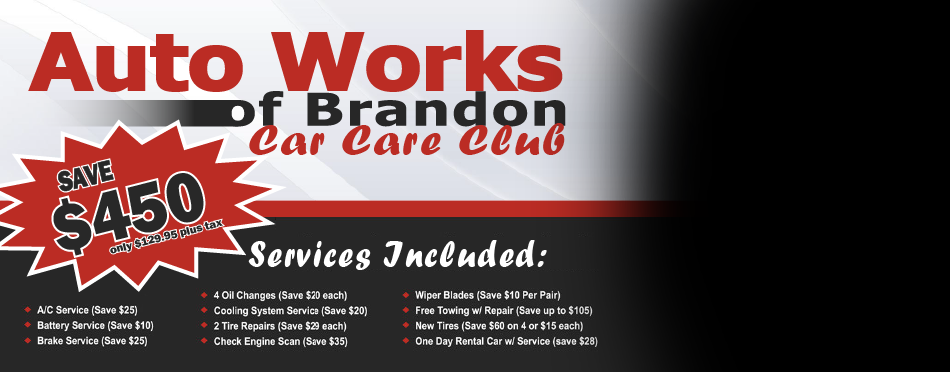 Auto Works of Brandon is the best auto mechanic in the