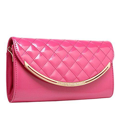Minibee Women's Evening Handbag Long Chain Purse Bag Rose Minibee http://www.amazon.com/dp/B00XBEGBLO/ref=cm_sw_r_pi_dp_8t4Gvb1QG2AAD
