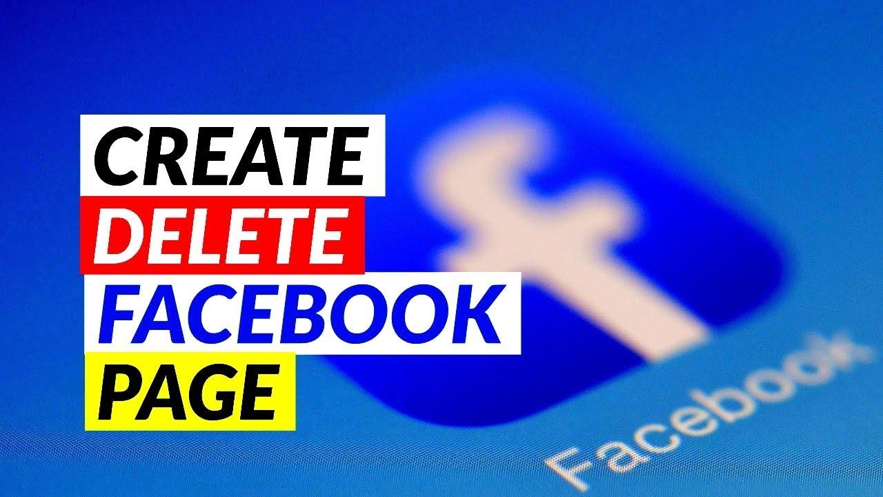 How To Delete A Page On Facebook That I Created 2018 Facebook