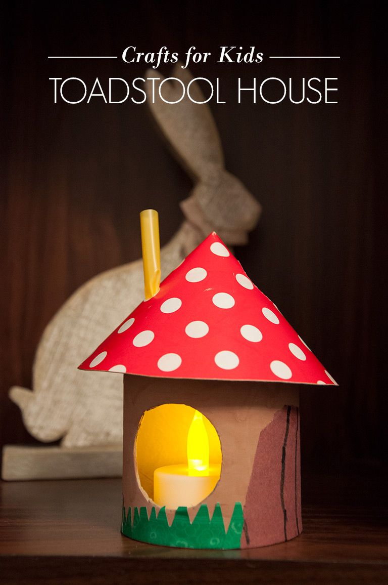 Crafts for Kids - Toadstool House | AO Life | Kids, Lifestyle