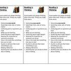 """Remind your students that """"Reading is Thinking"""" with this simple bookmark. It covers many of the things good readers think about while they read. ..."""