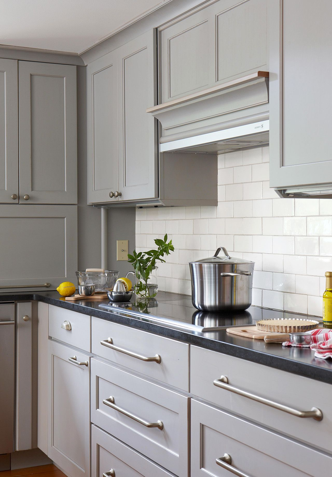 Cabinet Paint Color Trends And How To Choose Timeless Colors Painted Kitchen Cabinets Colors Painting Cabinets Kitchen Colors