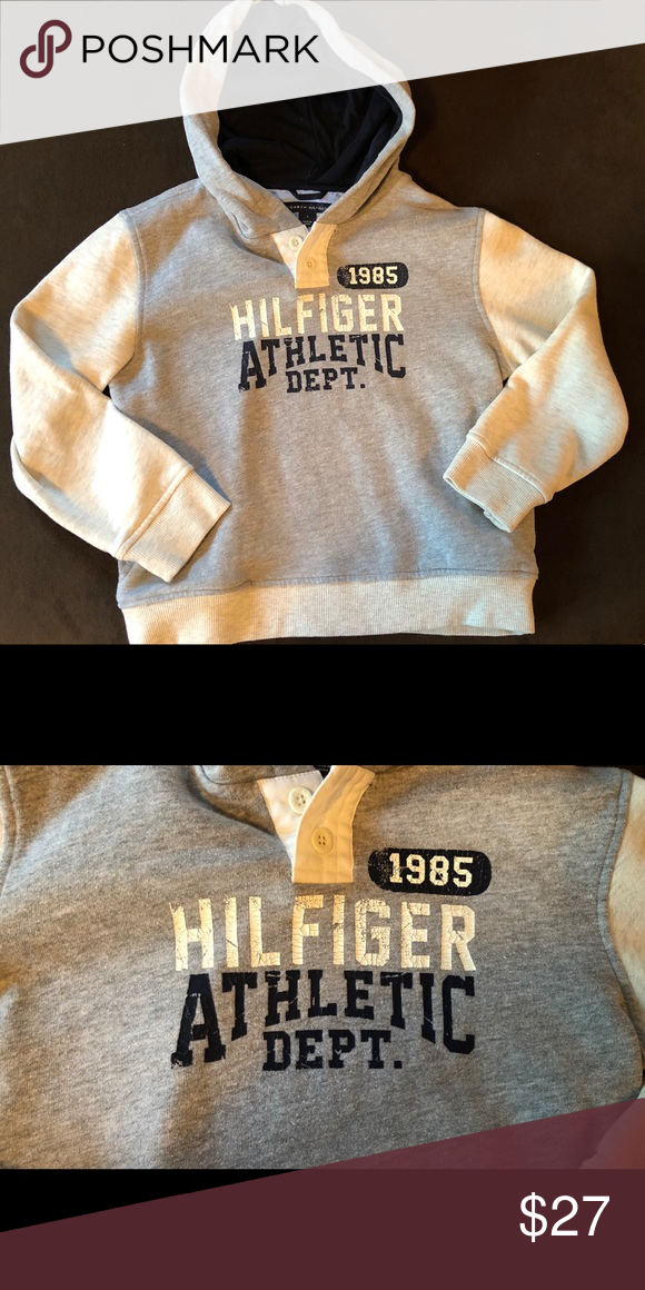 ff400a02c0ba99 Tommy Hilfiger Hoodie Boys Hoodie by Tommy Hilfiger. Size 7. In excellent  condition. Tommy Hilfiger Shirts   Tops Sweatshirts   Hoodies
