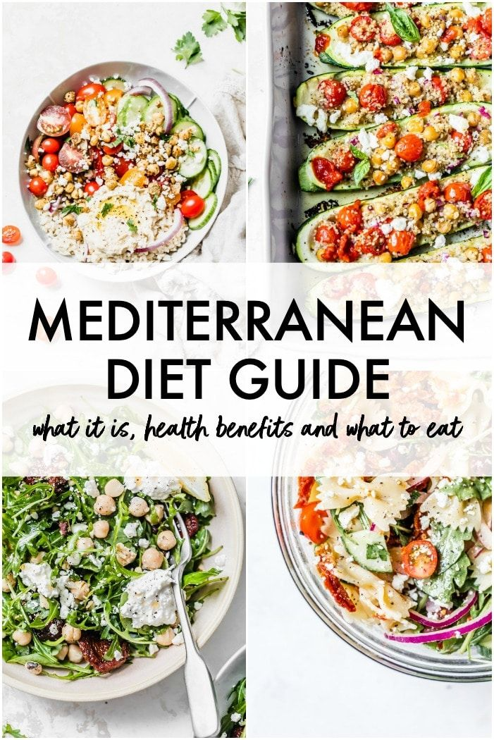 The Mediterranean Diet Guide for Beginners (The Almond Eater)