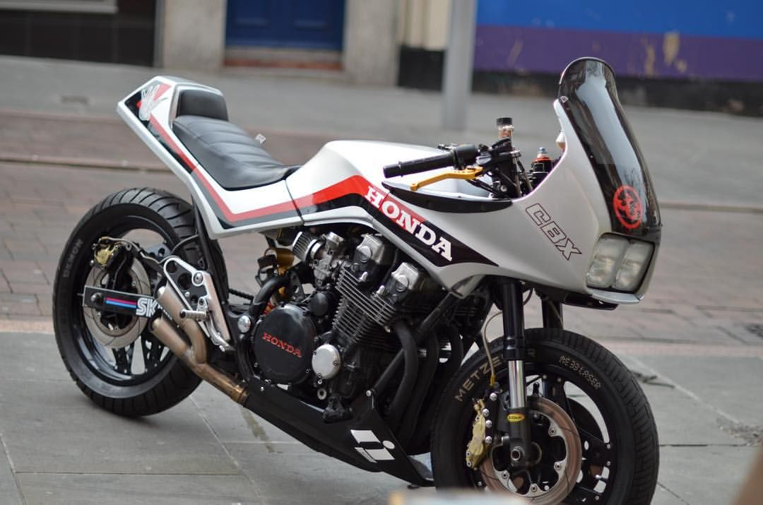 Back To The Future Skon Street Sweeper Custom 85 Cbx 750 Ridden Not Hidden